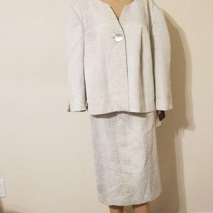 Liz Claiborne Plus Size Skirt/Jacket Set NWT